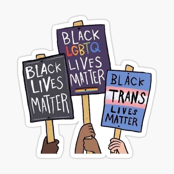 BLM black lives matter Sticker