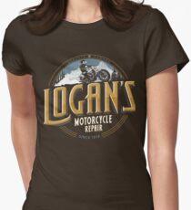 Logan's Motorcycle Repair Women's Fitted T-Shirt