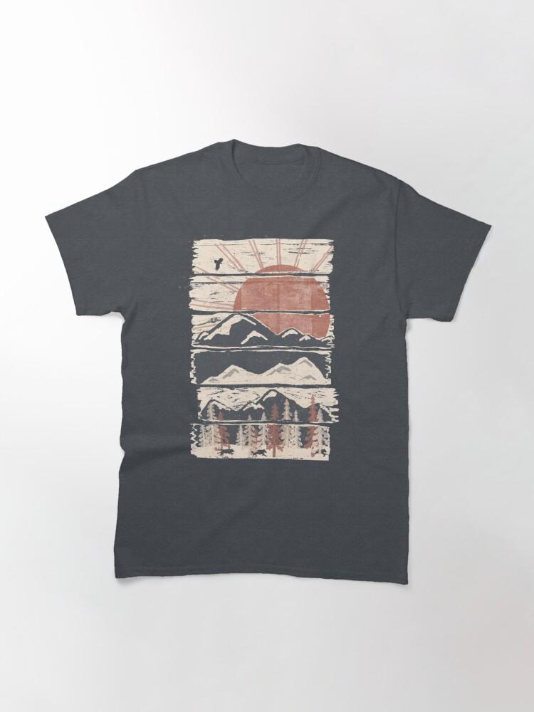 Alternative Ansicht von Winterverfolgungen ... Classic T-Shirt