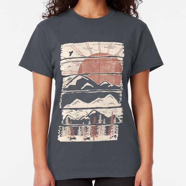 Winter Pursuits... Classic T-Shirt
