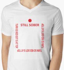 Im sober Men's V-Neck T-Shirt