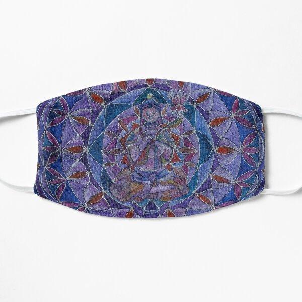 Abundance Buddha mandala Flat Mask