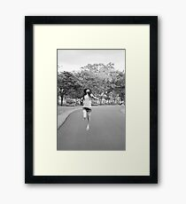fly to the freedom Framed Print