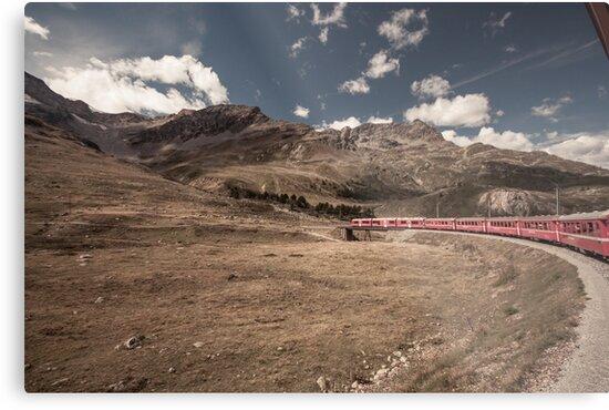 Bernina Express by Bimal Tailor