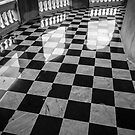 checkered marble floor by naphotos