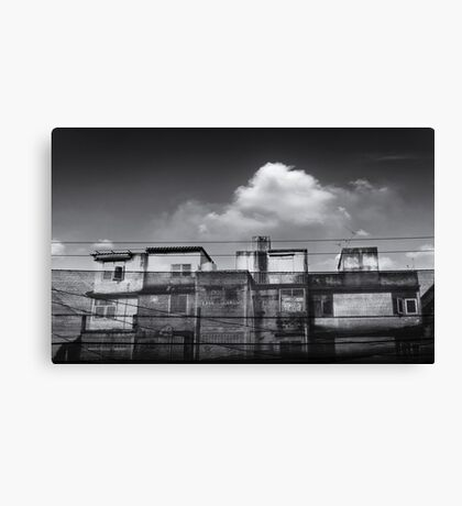 old buildings Canvas Print