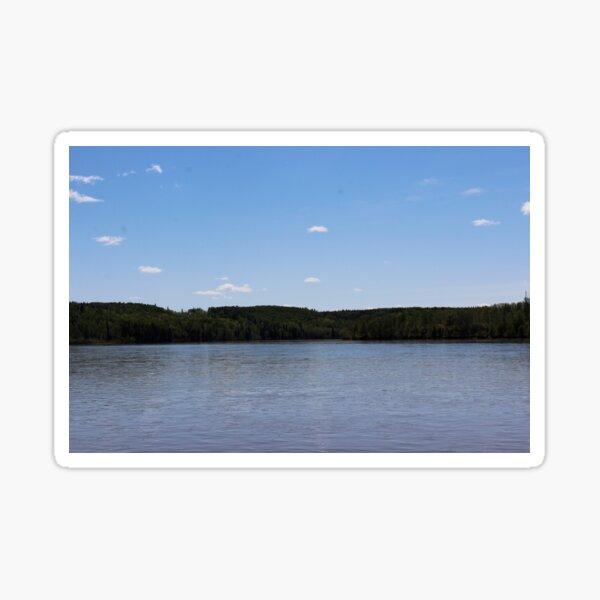 Horizon of the Athabasca Sticker