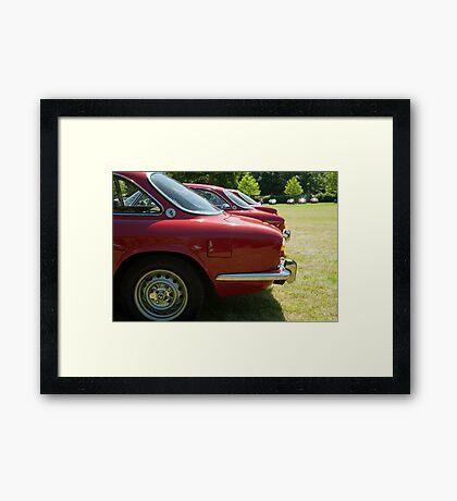 Alfa Romeo Giulia Sprints Framed Print
