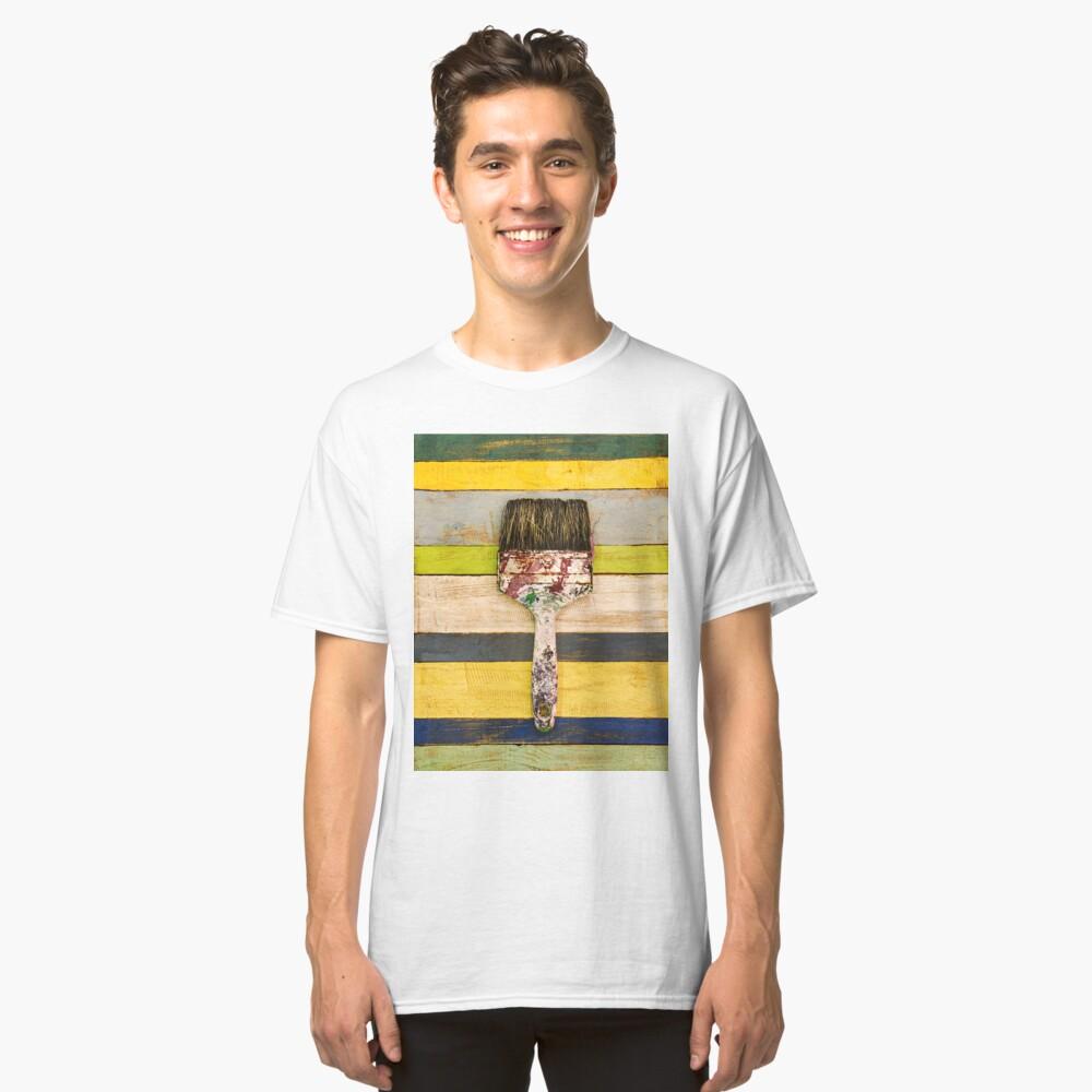 BRUSH CITRUS Classic T-Shirt Front