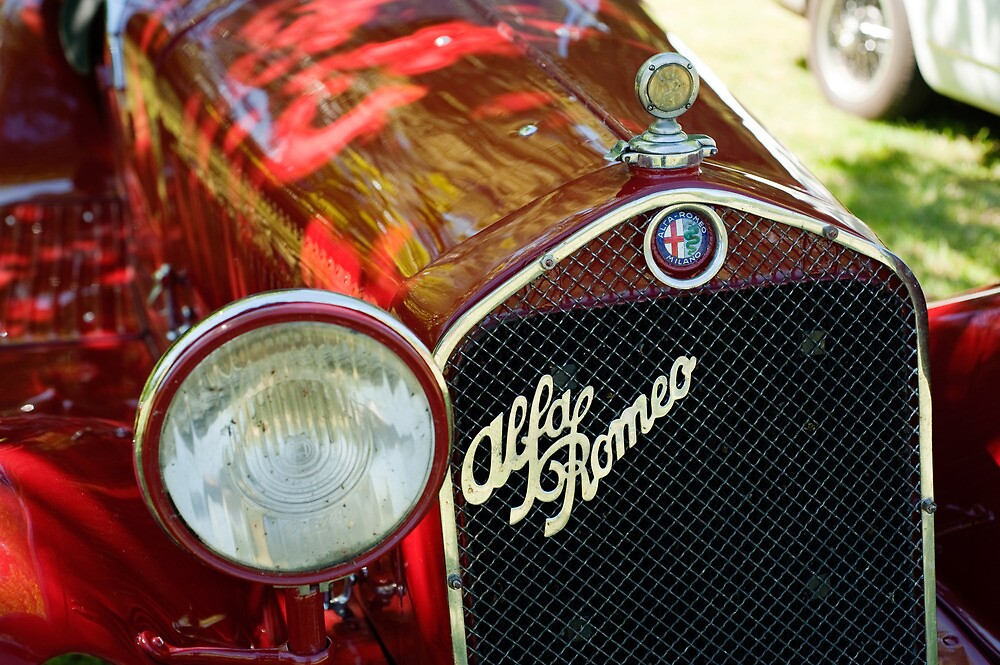 Alfa Romeo 6C by Flo Smith