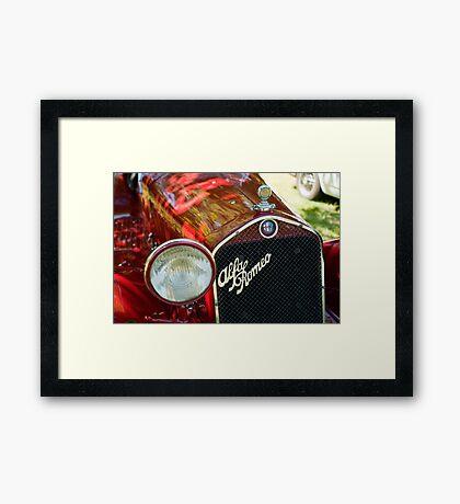 Alfa Romeo 6C Framed Print