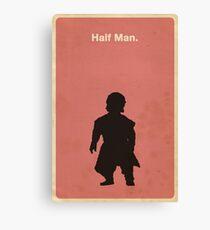 Half Man Canvas Print