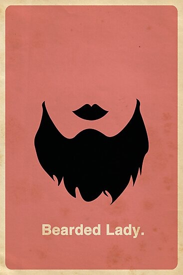 Bearded Lady by OddFix