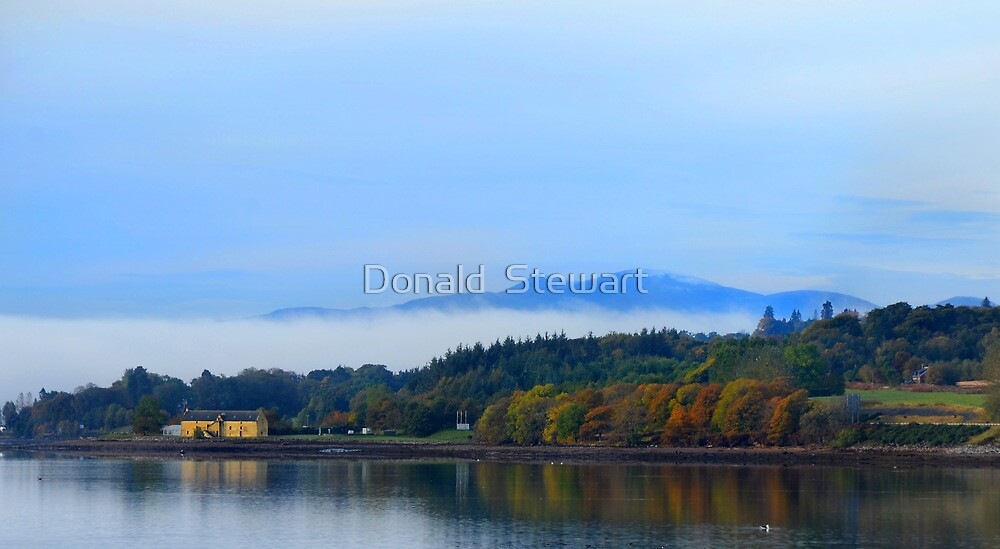 Cromarty Reflection by Donald  Stewart