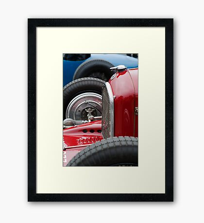 Alfa Romeo 6C - 2 Framed Print
