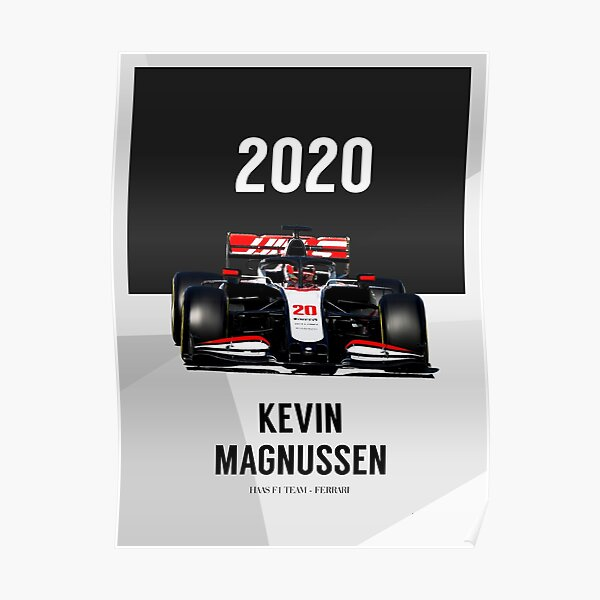 Kevin Magnussen Posters Redbubble