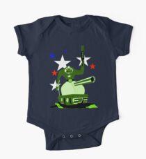 Green  Tankster Kids Clothes