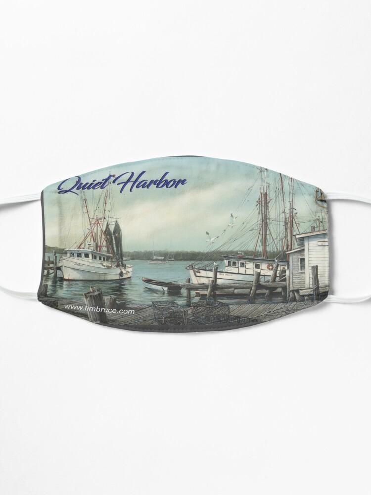 Alternate view of Quiet Harbor Coffee Mug Mask