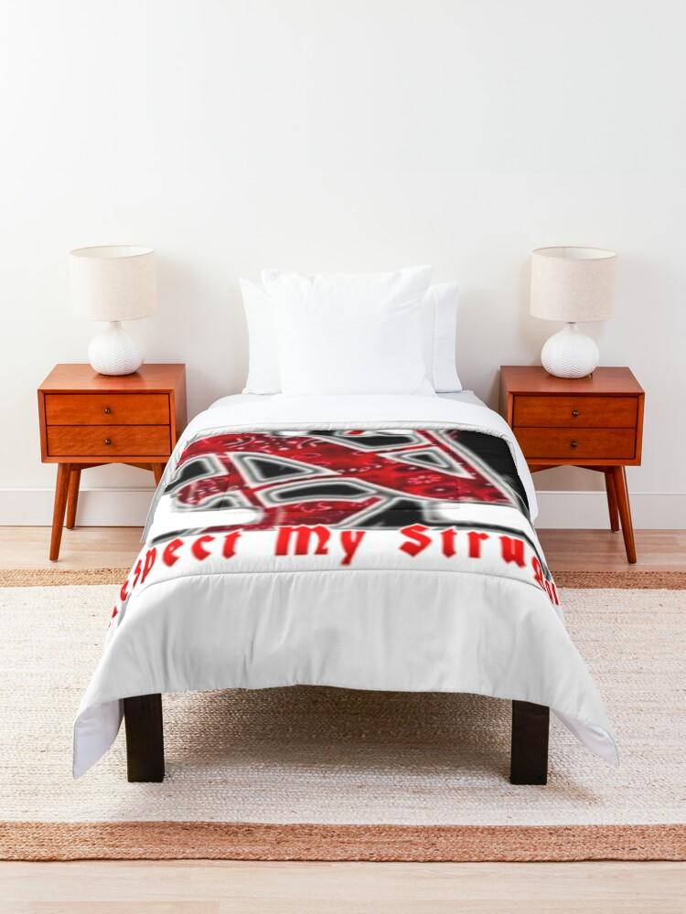 Alternate view of Norte it's a beautiful struggle Comforter