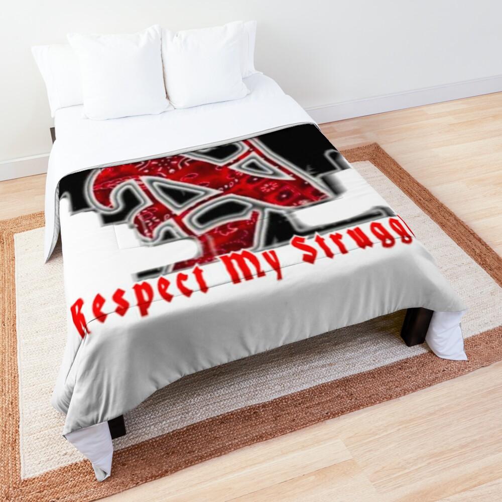 Norte it's a beautiful struggle Comforter