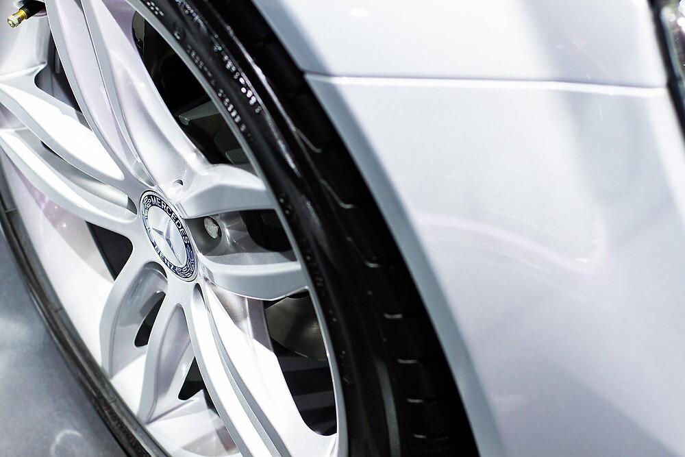 Mercedes-Benz Car Wheel [ Print & iPad / iPod / iPhone Case ] by Mauricio Santana