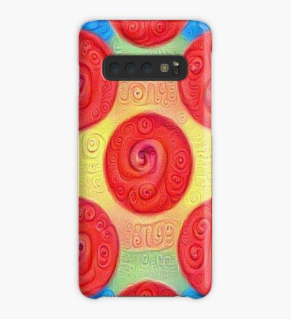 #DeepDream Color Squares and Circles Visual Areas 5x5K v1448272824 Case/Skin for Samsung Galaxy
