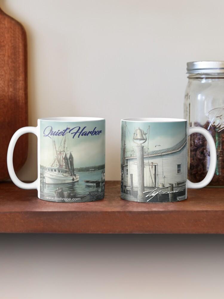Alternate view of Quiet Harbor Coffee Mug Mug