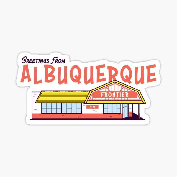 Frontier Restaurant in Albuquerque  Sticker