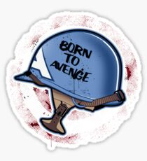 Born to Avenge Sticker
