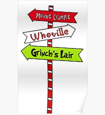 Whoville signs Poster