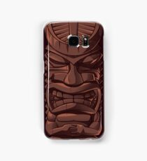 Wooden Tiki Statue Totem Sculpture iPhone 5 / iPhone 4 Case / Samsung Galaxy Cases  Samsung Galaxy Case/Skin