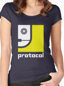 Protocol Women's Fitted Scoop T-Shirt