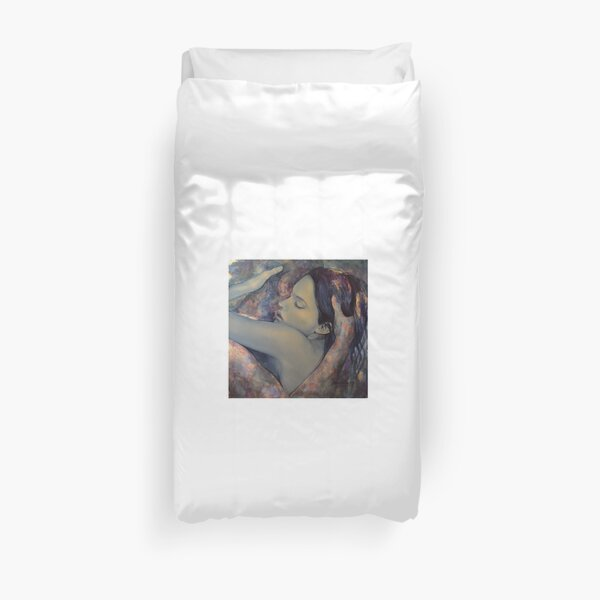 Romance with a Chimera Duvet Cover