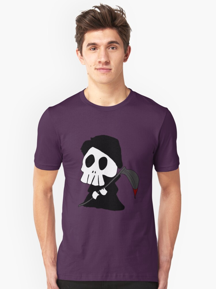 Grim Reaper Unisex T-Shirt Front
