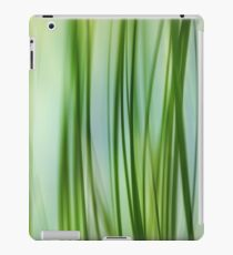 Vertical Grasses iPad Case/Skin