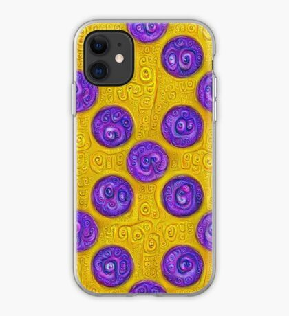 #DeepDream Color Squares and Circles Visual Areas 5x5K v1448281164 iPhone Case