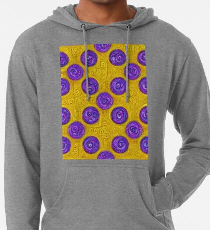 #DeepDream Color Squares and Circles Visual Areas 5x5K v1448281164 Lightweight Hoodie