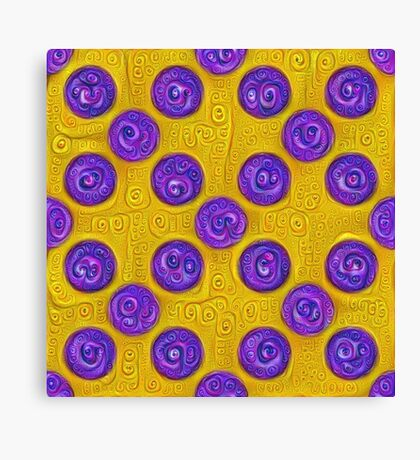 #DeepDream Color Squares and Circles Visual Areas 5x5K v1448281164 Canvas Print