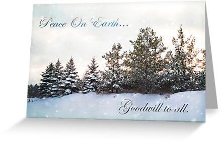 Peace On Earth card by KBritt