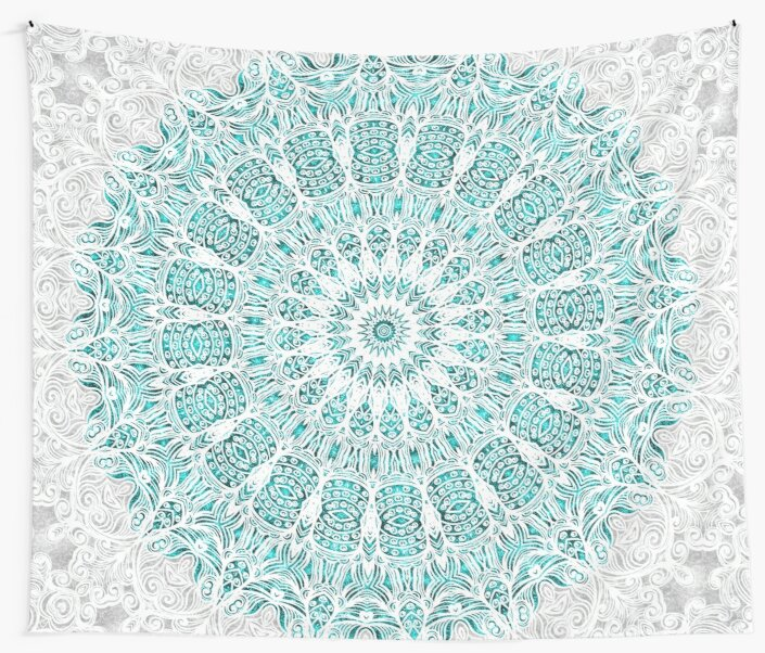 A Glittering Mandala by ZedEx