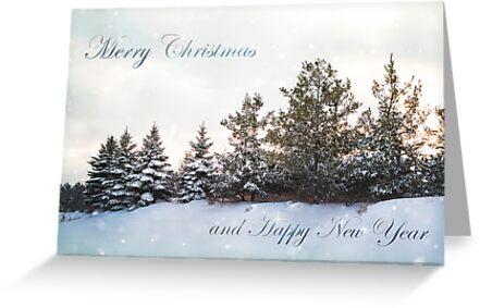 Christmas Greeting card by KBritt