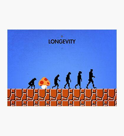 99 Steps of Progress - Longevity Photographic Print