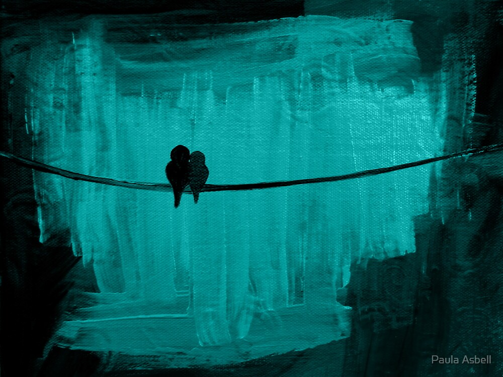 Two Is Better Than One ~ Teal by Paula Asbell