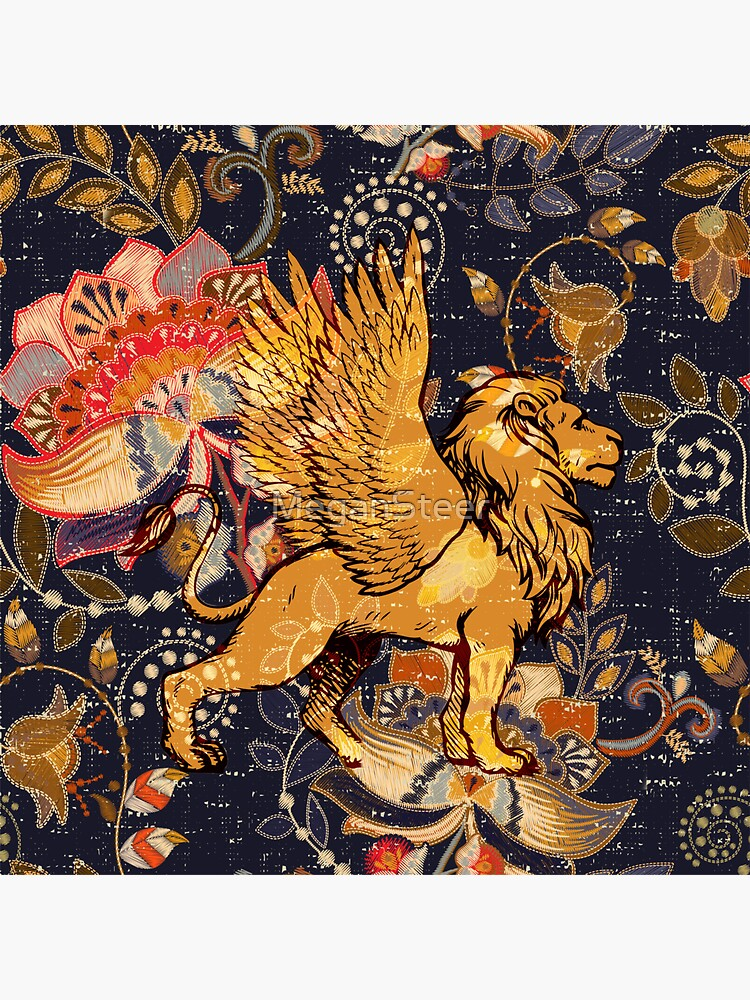 The Winged Lion by MeganSteer