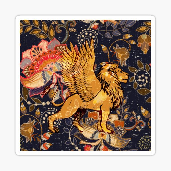 The Winged Lion Sticker