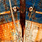 Ships Bow, Camaret sur Mer  2012 by Frank Bibbins