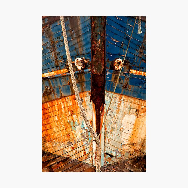 Ships Bow, Camaret sur Mer  2012 Photographic Print