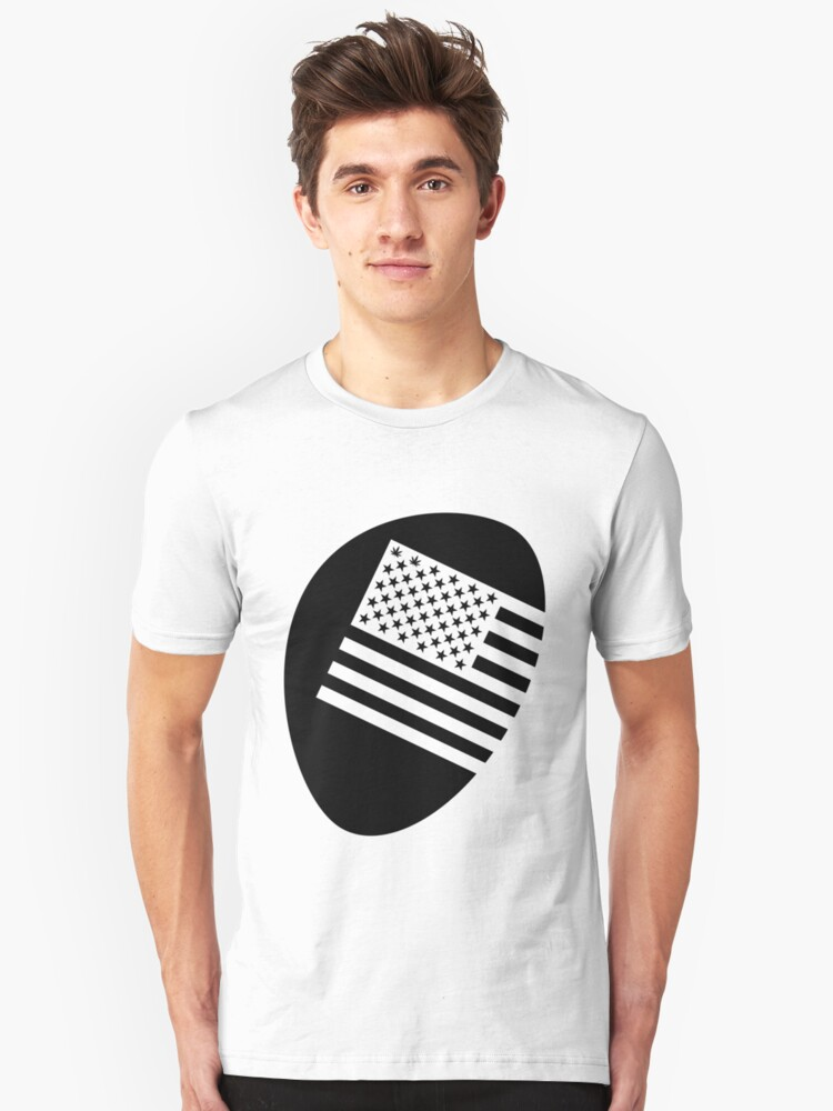 Legalized flag - black by cokid