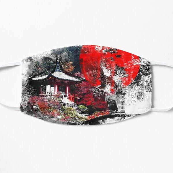 Kyoto Abstract Flat Mask