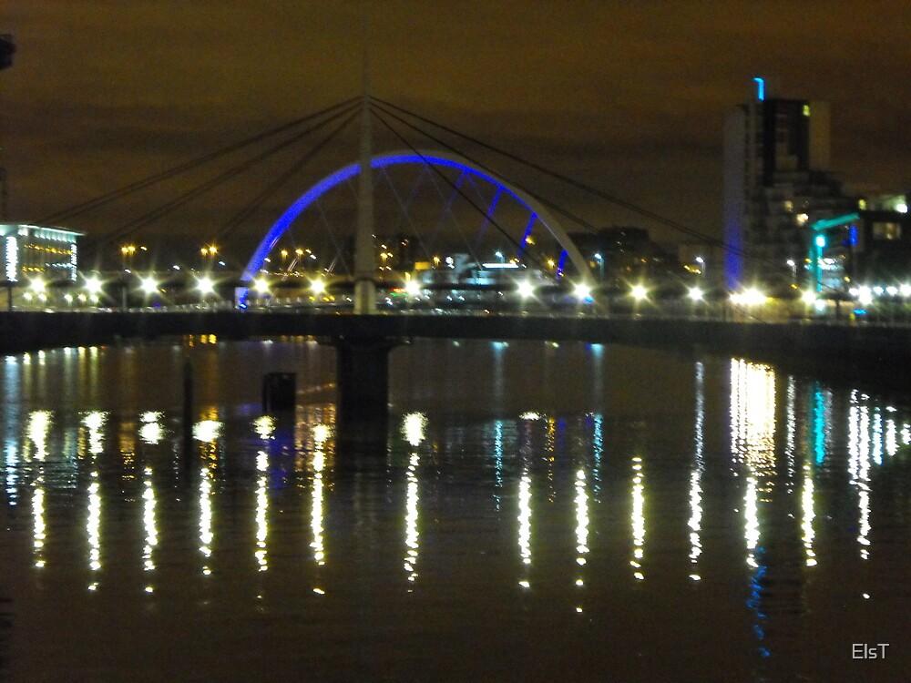 Glasgow Night Lights by ElsT